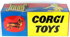 Corgi toys sign jouef x67