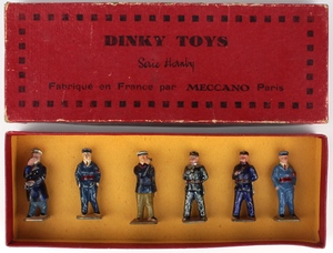 French dinky no.1 station staff x841