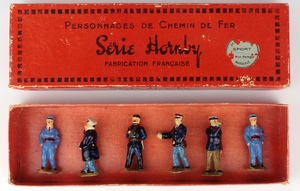 French hornby no.1 station figures x86