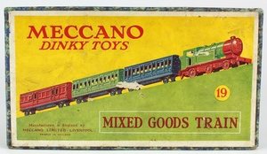 Dinky 19 mixed goods train set x125