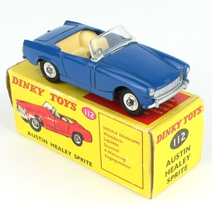 South african dinky 112 healey x215