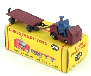 Dinky 076 lansing tractor trailer x402