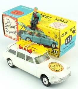 Corgi 475 citroen safari winter sports x418