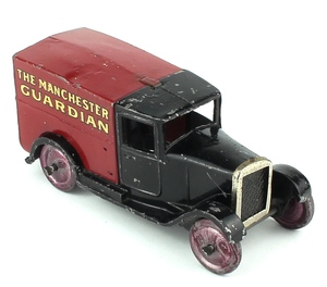 Dinky 28c delivery van manchester guardian x432