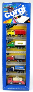 Corgi reeves intenrational 5 car gift pack x481