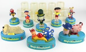 Magic roundabout figures x505
