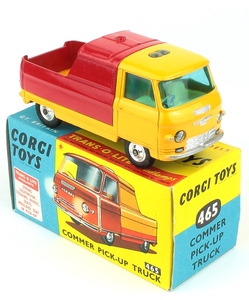 Corgi 465 commer pick up truck x802
