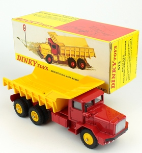 French dinky 572 berliet quarry truck x882