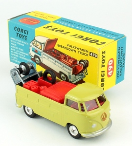 Corgi 490 vw breakdown truck yy155