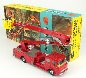 Corgi 1127 simon snorkel fire engine yy198