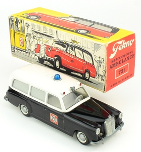 Tekno 731 mercedes ambulance yy288