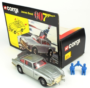 Corgi 271 james bond aston yy297