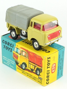 Corgi 470 forward control jeep yy363