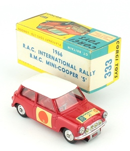 Corgi 333 sun rally mini yy364