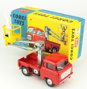 Corgi 64 working conveyor forward control jeep yy458a