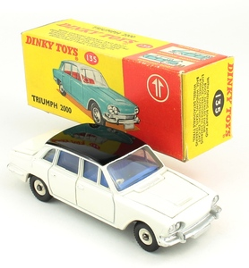 Dinky toys 135 triumph 2000 promotional yy692