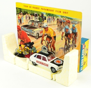 Corgi gift set 13 tour de france renault yy759