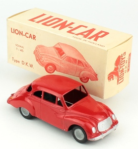Lion car dkw red yy857