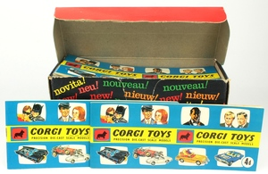 Corgi toys catalogue dispenser 1967 yy987
