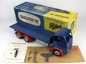 Shackleton toy foden flat truck zz70a