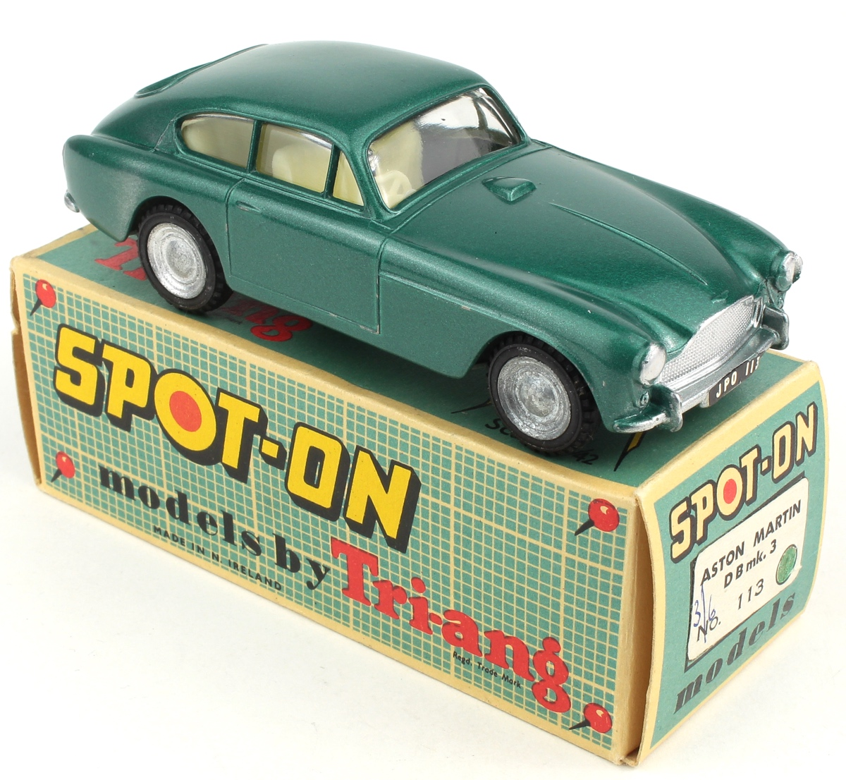 Spot-on Models 113 Aston Martin DB3