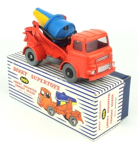Dinky toys 960 lorry mounted cement mixer zz195