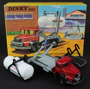 French dinky toys 805 multi skip gas tanker zz321