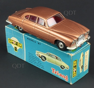 Spot on models 218 jaguar mk 10 zz38
