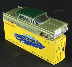 French dinky toys 532 lincoln premiere zz447