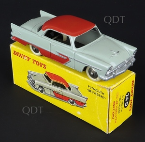 French dinky toys 24d plymouth belvedere zz480