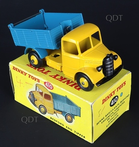 Dinky toys 410 bedford end tipper zz520