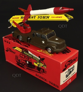 Tekno models 870 honest john military truck zz555