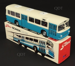 Tekno models 851 scania double deck bus zz804