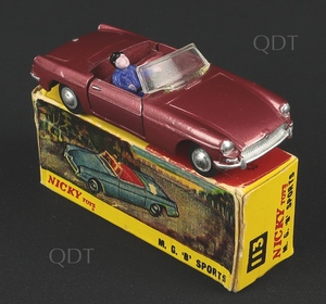 Nicky toys 113 mgb sports aa57
