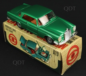 Mebetoys models a19 mercedes 250 coupe w852