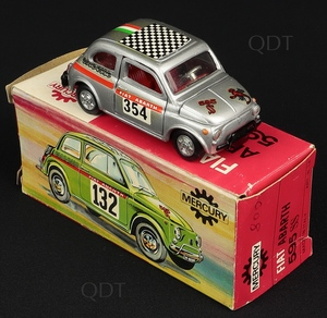 Mercury models 14 fiat abarth 595 ss w194