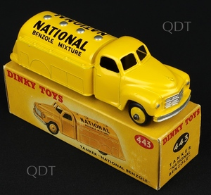 Dinky toys 443 national benzole tanker aa140