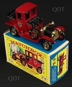 Martchbox models yesteryear y 11 1912 packard landaulet v297