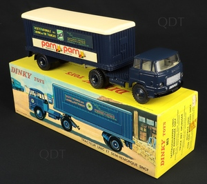 French dinky toys 803 unic artic lorry sncf pam pam aa165
