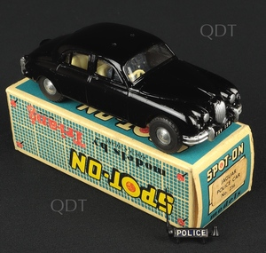 Spot on models 256 jaguar police car aa170