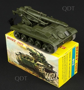 French dinky toys 813 amx self propelled gun v301