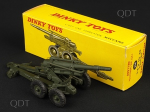 French dinky toys 819 obusier v302