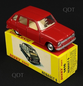 French dinky toys 1416 renault 6 c316
