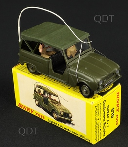 French dinky toys 815 sinpar military jeep c317