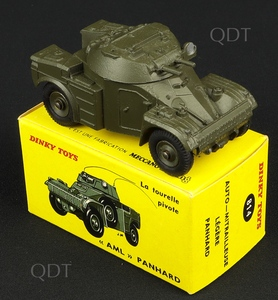 French dinky toys 814 aml panhard armoured car c319